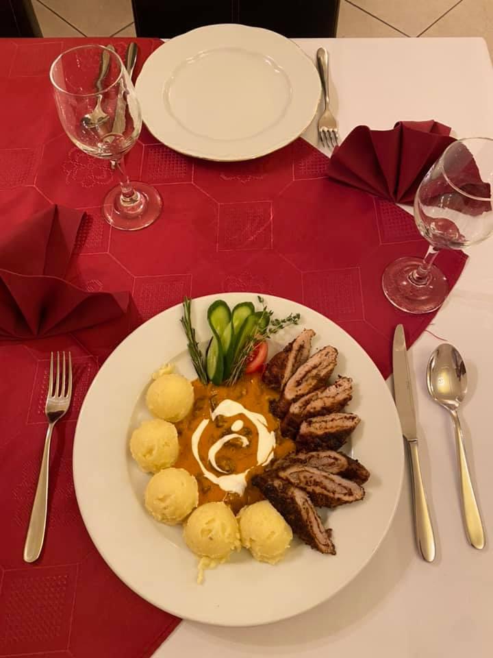 Házias étteremben Budapesten